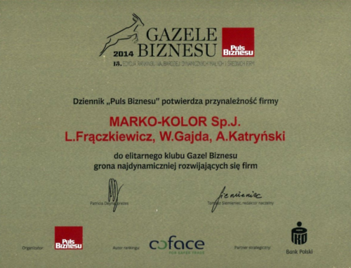 Business Gazelles 2014